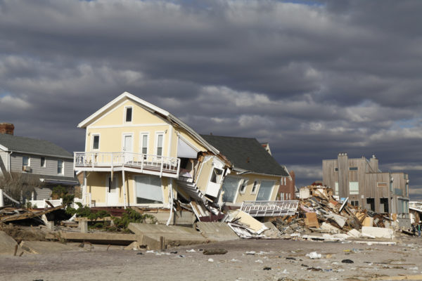 Catastrophes Destroyed Beach Homes